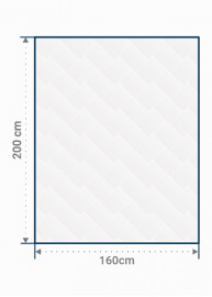 Matelas standard - 160 x 200