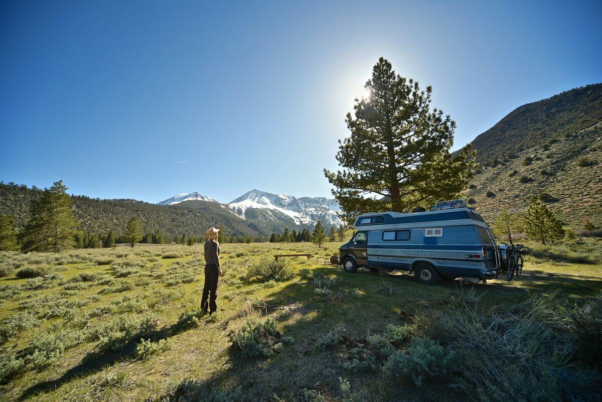 Les lieux pour dormir en camping-car