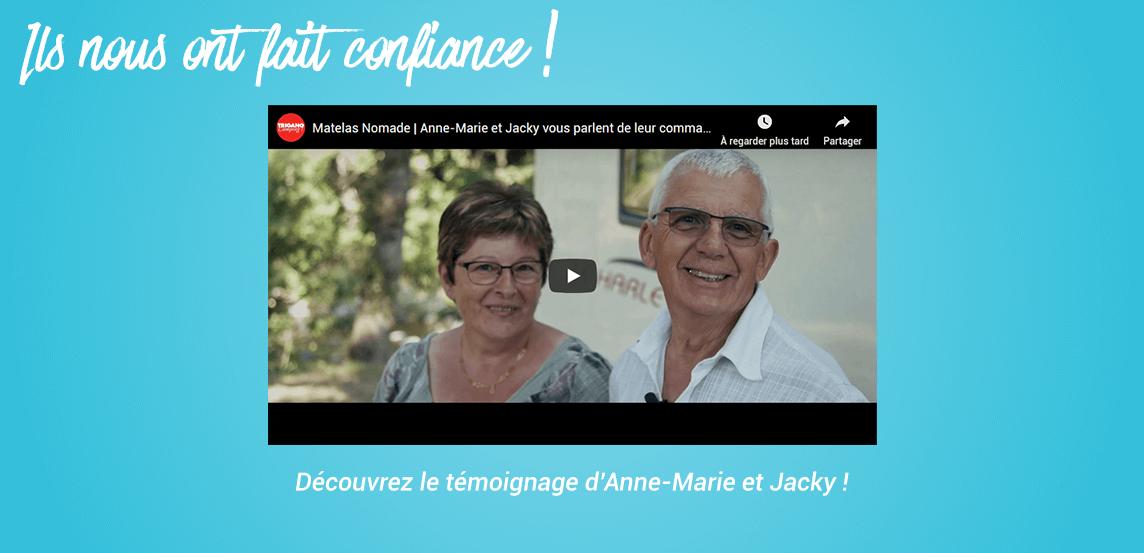 Témoignage client Anne-Marie et Jacky